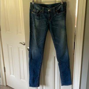 Women's True Religion Skinny Jeans. Size 31